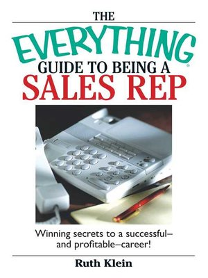 cover image of The Everything Guide to Being a Sales Rep