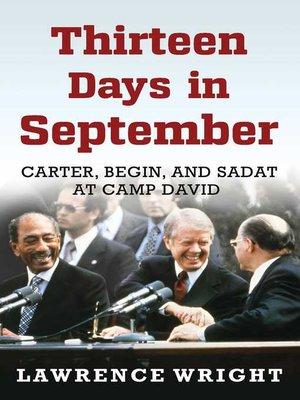 cover image of Thirteen Days in September