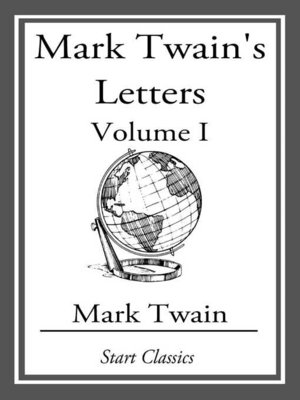cover image of Mark Twain's Letters