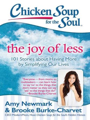 cover image of The Joy of Less
