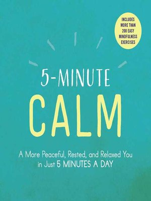 cover image of 5-Minute Calm