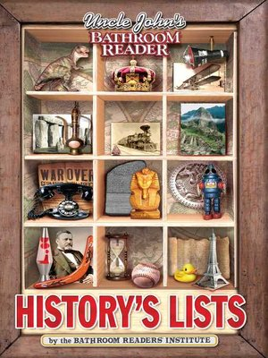 cover image of Uncle John's Bathroom Reader History's Lists