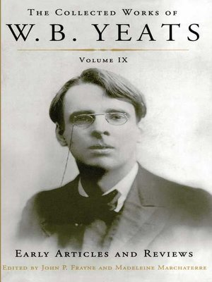 cover image of The Collected Works of W. B. Yeats, Volume IX