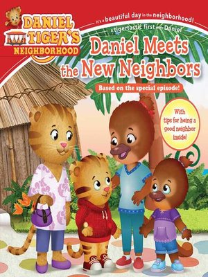 cover image of Daniel Meets the New Neighbors