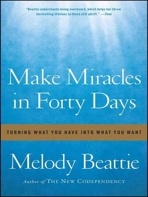 cover image of Make Miracles in Forty Days