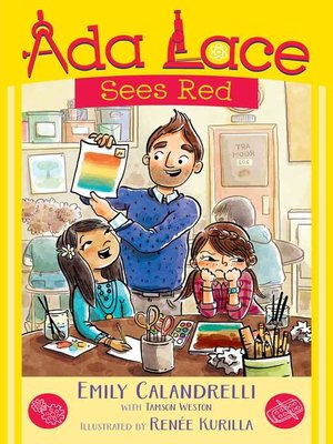 cover image of Ada Lace Sees Red