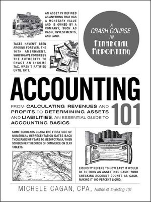 cover image of Accounting 101