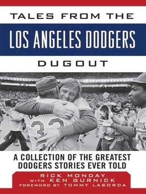 cover image of Tales from the Los Angeles Dodgers Dugout