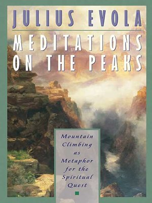 cover image of Meditations on the Peaks
