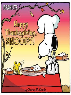 cover image of Happy Thanksgiving, Snoopy!