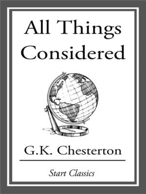 cover image of All Things Considered