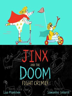 cover image of Jinx and the Doom Fight Crime!