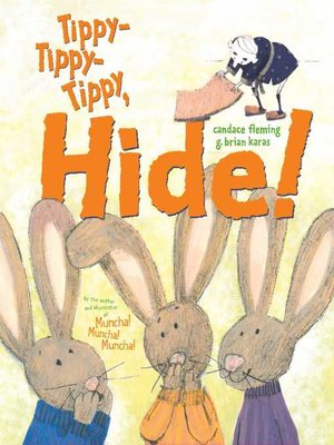 cover image of Tippy-Tippy-Tippy, Hide!