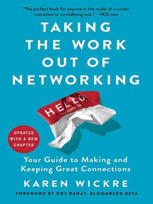 cover image of Taking the Work Out of Networking