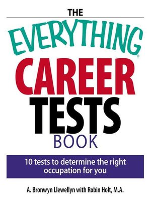 cover image of The Everything Career Tests Book