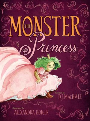 cover image of The Monster Princess