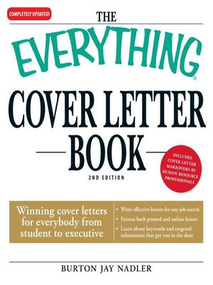 cover image of The Everything Cover Letter Book