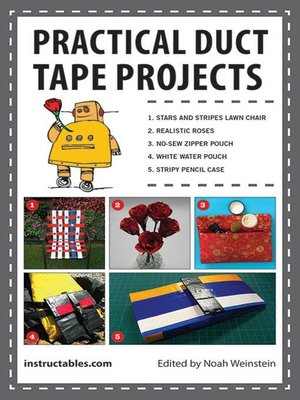cover image of Practical Duct Tape Projects