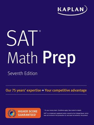 cover image of SAT Math Prep
