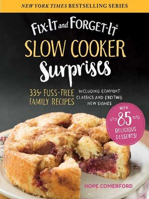 cover image of Fix-It and Forget-It Slow Cooker Surprises