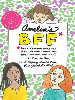 cover image of Amelia's BFF