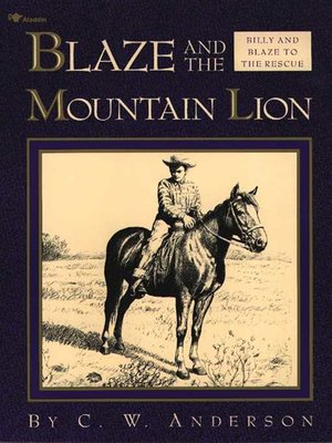 cover image of Blaze and the Mountain Lion