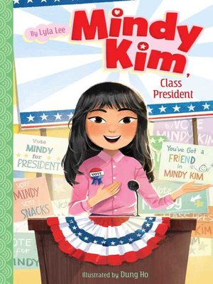 cover image of Mindy Kim, Class President