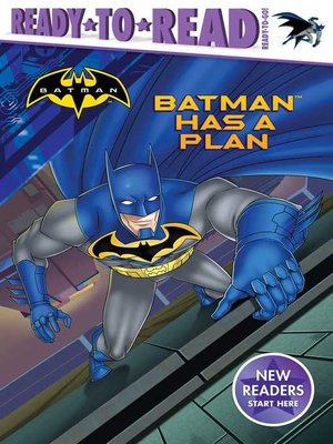 cover image of Batman Has a Plan