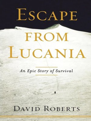 cover image of Escape from Lucania