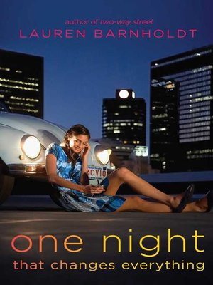 cover image of One Night That Changes Everything