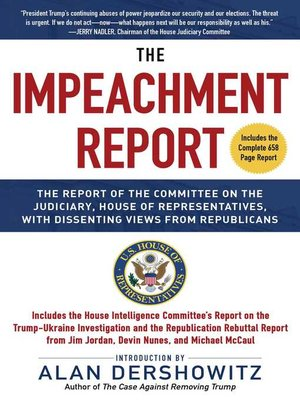 cover image of The Impeachment Report