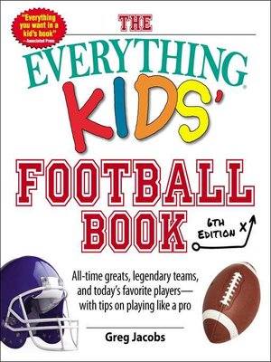 cover image of The Everything Kids' Football Book