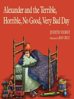 alexander and terrible horrible bad day book