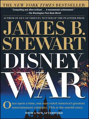 cover image of DisneyWar