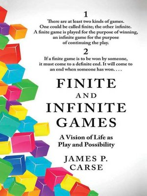 cover image of Finite and Infinite Games
