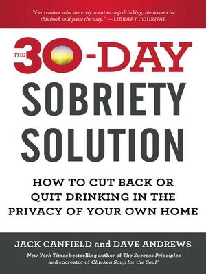 cover image of The 30-Day Sobriety Solution