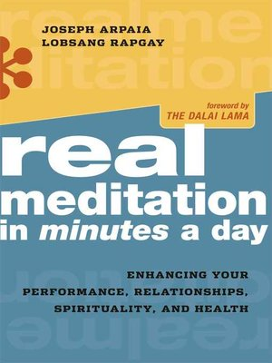 cover image of Real Meditation in Minutes a Day