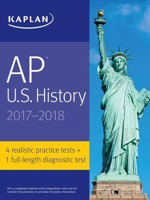 cover image of AP U.S. History 2017-2018
