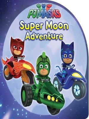 cover image of Super Moon Adventure