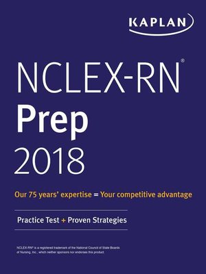 cover image of NCLEX-RN Prep 2018