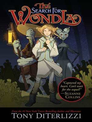 cover image of The Search for WondLa