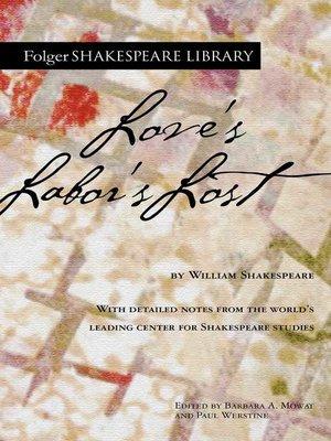 cover image of Love's Labor's Lost