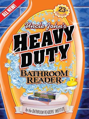 cover image of Uncle John's Heavy Duty Bathroom Reader