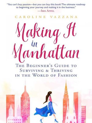 cover image of Making It in Manhattan
