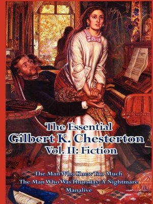 cover image of The Essential Gilbert K. Chesterton