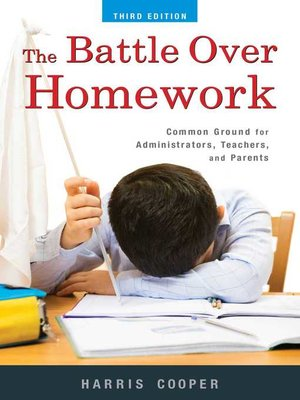 cover image of The Battle Over Homework