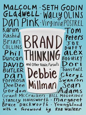 cover image of Brand Thinking and Other Noble Pursuits