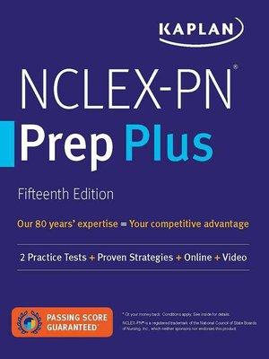 cover image of NCLEX-PN Prep Plus
