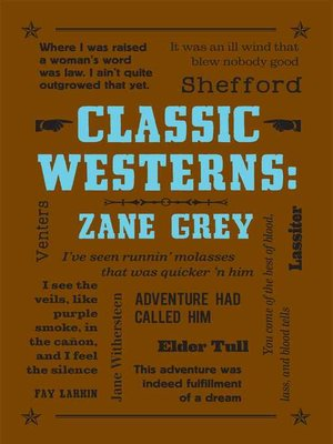 cover image of Classic Westerns