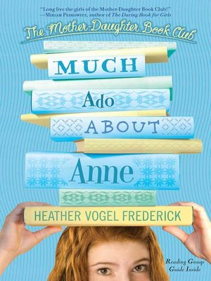 cover image of Much Ado About Anne